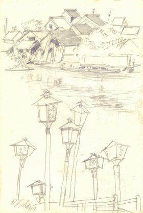 浅草公園千束池