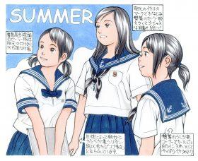 図版⑥森伸之「私学の夏セーラー」